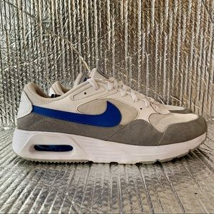Nike Men's Air Max SC Grey Blue White Mens 9.5 Casual Lifestyle Shoes CW4555-101